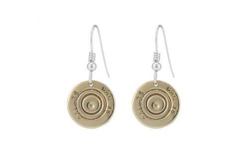 410 Shotgun Cartridge Drop Earrings