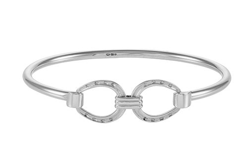 Horseshoe Bangle - Double