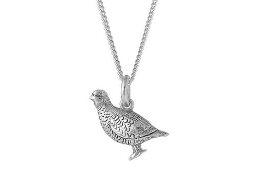 Partridge Necklace / Partridge Pendant