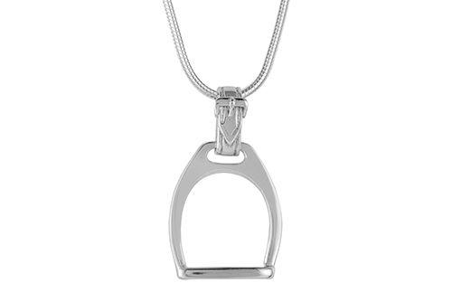 Horse Stirrup Necklace / Pendant