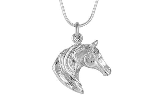 Horse Head Necklace - Arab