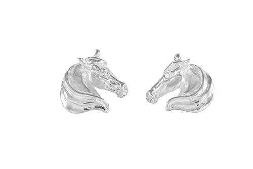 Horse Head Earrings (Large)