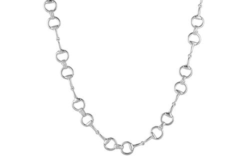 Snaffle Bit Necklace - Large Bit