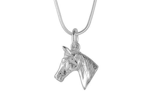 Pony Head Necklace / Pendant