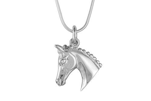 Horse Head Necklace - Show Hack