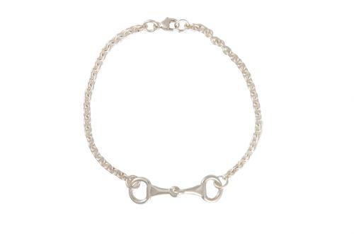 Snaffle Bit Chain Bracelet