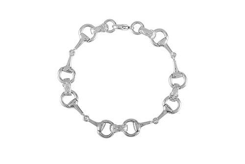 Snaffle Bit Bracelet - Medium Bit